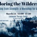 A Workshop for Men Who Want to Act from Strength